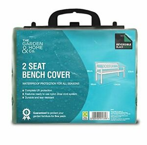 Fine Details About Gardman 2 Seat Bench Cover Black Green Waterproof Heavy Duty Garden Furniture Caraccident5 Cool Chair Designs And Ideas Caraccident5Info