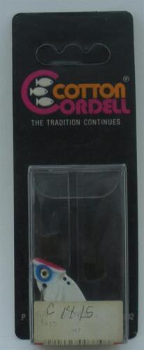 "Cordell C1415 1-1//2/"" Gay Blade 1//4 Oz White//Blue 14432 21576"
