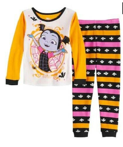 Toddler Girls Vampirina Halloween glitter costume pajamas Shirt Pants 3T 4T 5T