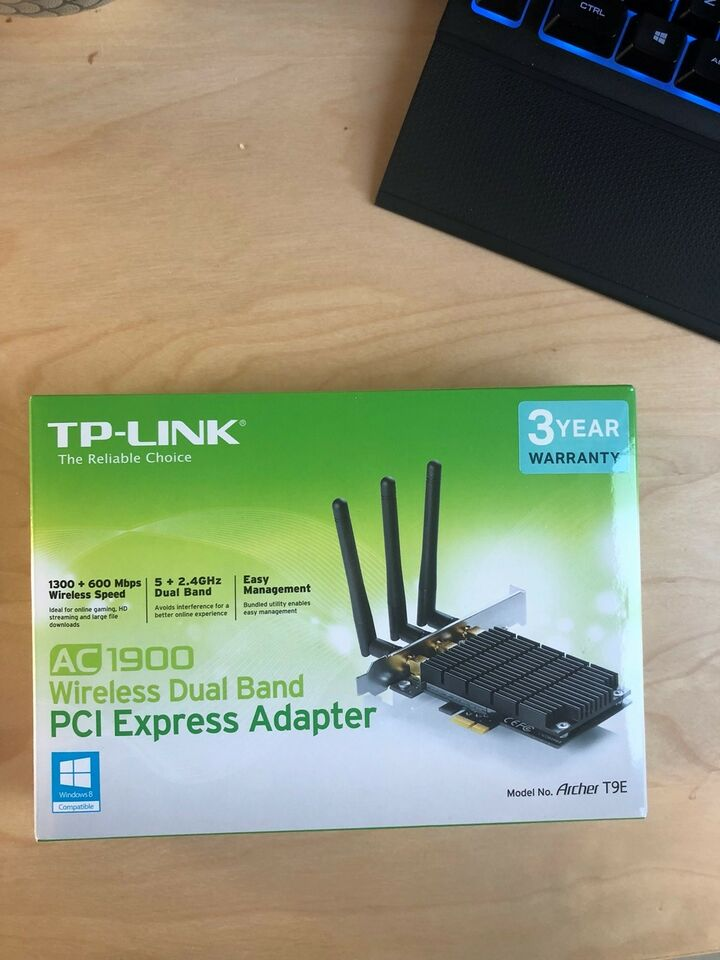 Netkort, wireless, TP-Link