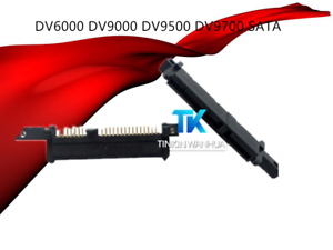 For HP DV6000 DV9000 DV9500 DV9700 SATA Hard Drive HDD Connector adapter