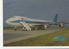 Tesis Cargo Boeing 747-200F Aviation Postcard, B007
