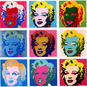 Image result for andy warhol marilyn