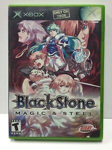 Black-Stone-Magic-amp-Steel-for-Xbox-Original-No-Manual-XICAT-Interactive-NTSC