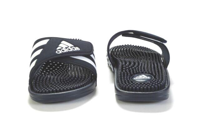 727ee3fecd23 Men s adidas Adissage Navy Slides Shower Sandals Athletic Sport ...