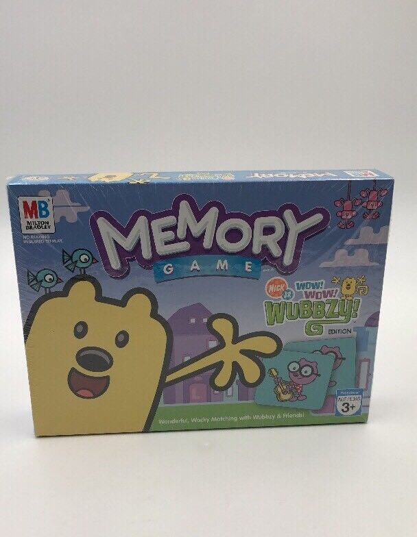 Juego De Memoria Wow Wow Wubbzy Edición. Hasbro.