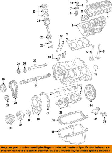 4.3 Engine Timing Cover NEW GM # 93445880
