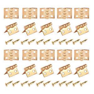 20pcs-Mini-Metal-Hinge-with-Screws-for-1-12-Dollhouse-Miniature-Furniture