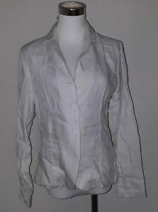 devant 6 pour en sur Nouvelle blanc veste Like lin avec boutons femmes People taille le Frank PIvZ6