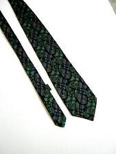 GIANNI VERSACE Cravatta Tie  Originale 100% SETA SILK  JACQUARD