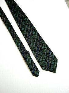 GIANNI-VERSACE-Cravatta-Tie-Originale-100-SETA-SILK-JACQUARD