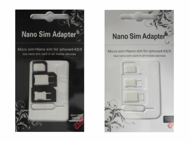 SIM Card Adapter Phone Tablet Universal Suitable Nano Micro Normal Needle Z12