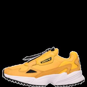 Detalles de Adidas Falcon Cremallera Mujer Zapatillas Color Dorado Zapatos Atléticos 2019