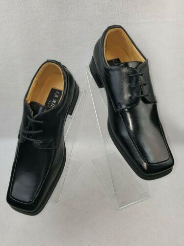 "La Milano /""AT6793/"" Boy/'s Big Kids Leather Lace Up Dress Shoes"