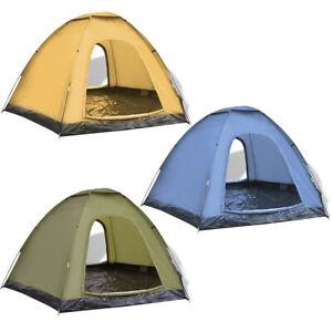 Tente-de-Camping-pour-6-personnes-Bleu-Vert-Jaune-Couche-Impermeable-Portable