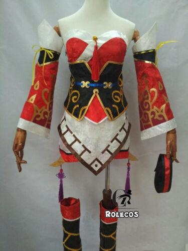 League Of Legends LOL Ahri the Nine-Tailed Fox CG Skin Cosplay Costume Full Set