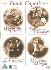 FRANK CAPRA COLLECTION - 4 Classic's Directed by Frank Capra (4xDVD BOX SET '04)