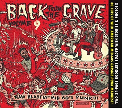 Various Artists - Back from the Grave 9-10 [New CD] Digipack Packaging