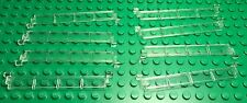 Lego New Bulk City Garage Trans-clear / Transparent Rollers X8 Door Parts