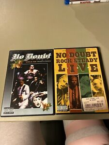 No-Doubt-Live-In-The-Tragic-Kingdom-And-Rock-Steady-Live-DVD-Lot