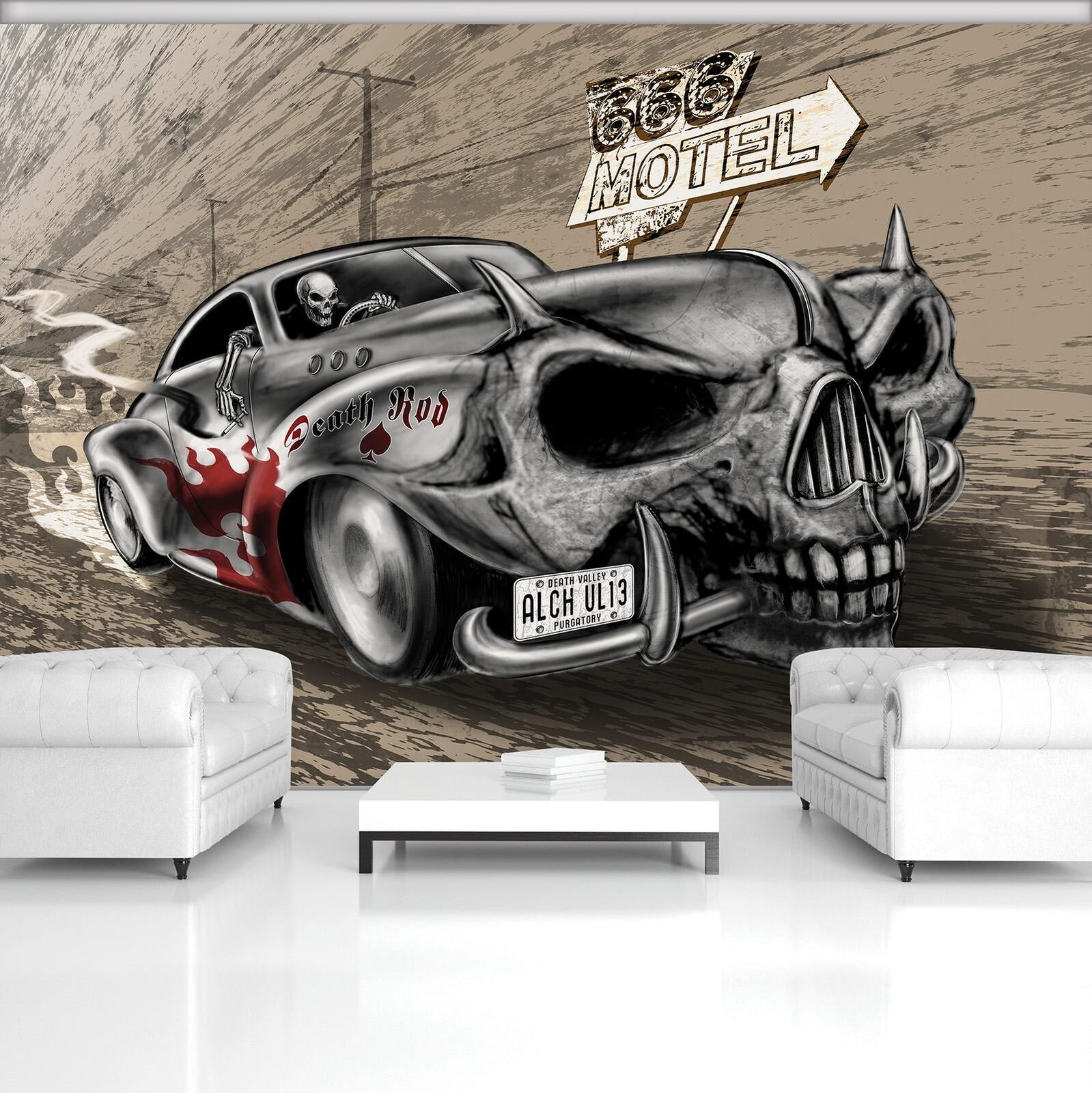 Alchemy Alchemy Photo Wallpaper Mural Non-woven 20252_VE Alchemy Death Rod Motel