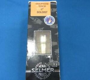H-SELMER-Tenor-Saxophone-Mouthpiece-SOLOIST-C-USED-1609