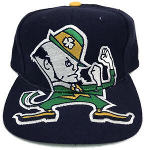 Vintage Notre Dame Fighting Irish Snapback Hat Cap American Needle ... bab03dc2000