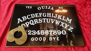 Wooden-Ouija-Board-Game-magic-Spirit-Chair-amp-Planchette-ghost-hunt-Instructions