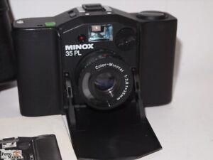 Set:Minox PL Kompaktkamera + Tasche Objektiv Minotar 2,8/35 mm Weitwinkel lens