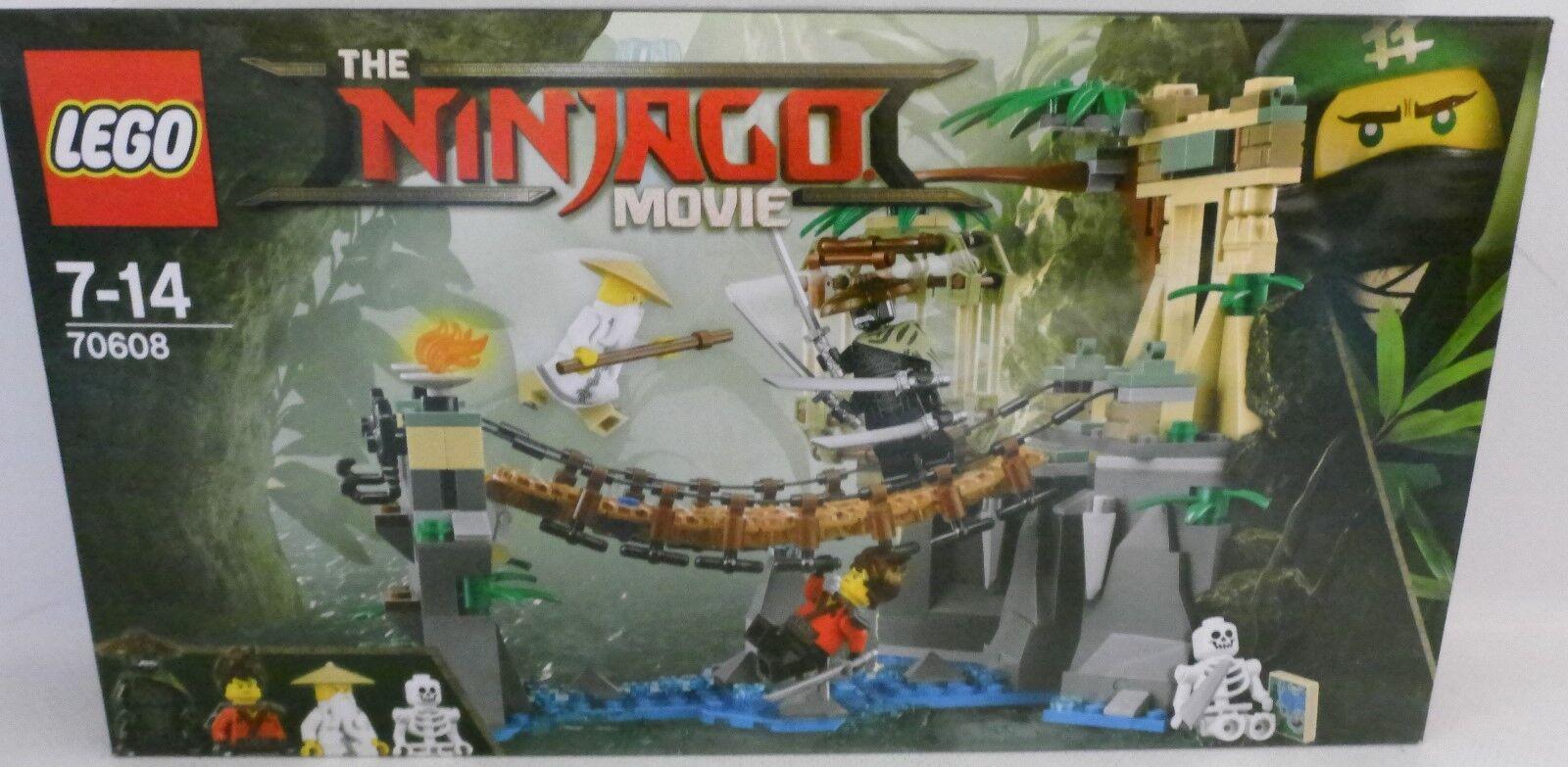 NEU LEGO® NINJAGO MOVIE 70608 Meister Wu´s Wasserfall OVP