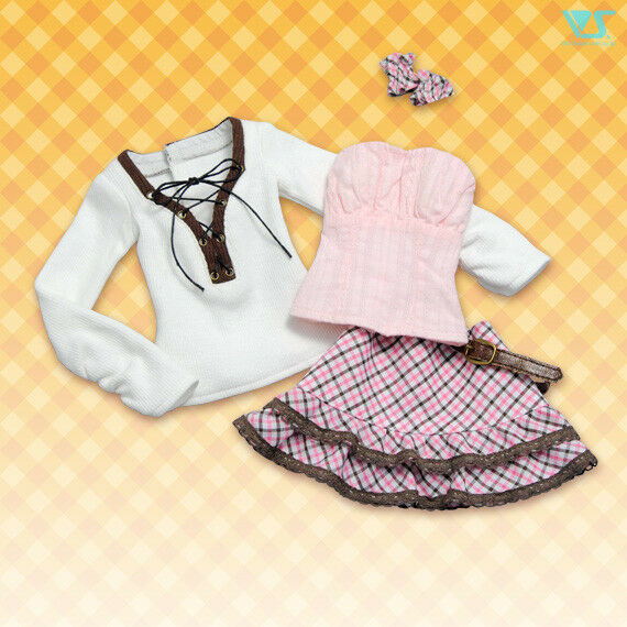 VOLKS BJD Dollfie Dream Tenshi-no-KGoldmo Going on a Date Active Girl Set Clothes