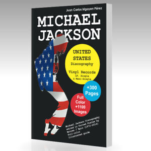 Book-MICHAEL-JACKSON-United-States-Discography-Vinyl-Records-Guide-1971-2015