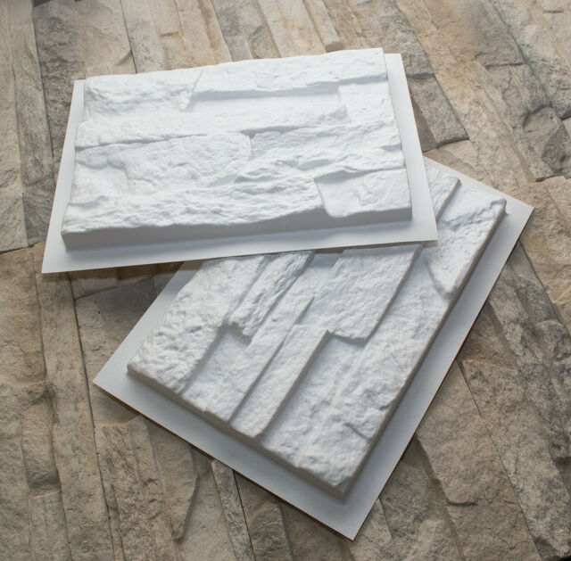 16 plastic casting molds *NEPAL* for concrete veneer wall stone stackstone tiles