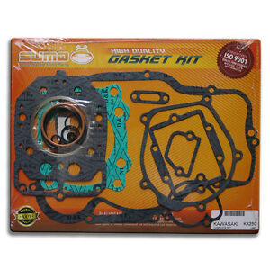 Kawasaki High Quality Full Complete Engine Gasket Kit Set KX 250 [Only > 1987]