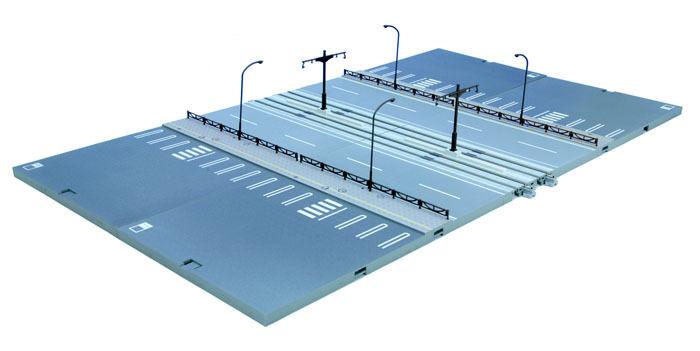 Nuovo Kato Unitram 40-802  V52 Straight Line Expansion Set
