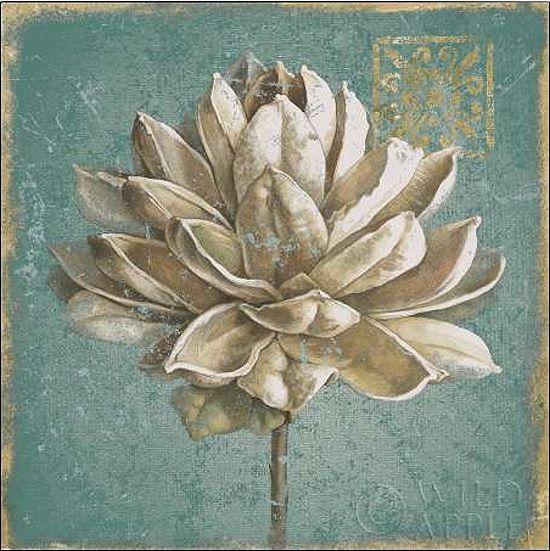 Beth Grove  SEMI Pentola I Turchese barella-immagine Schermo fiori moderno
