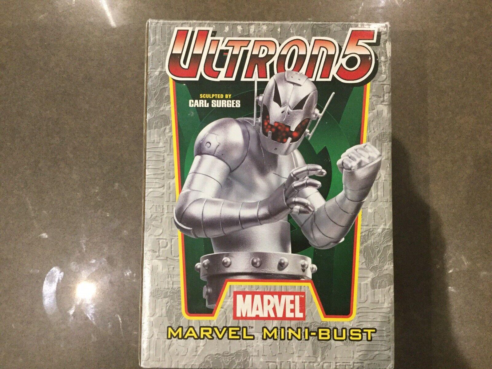 2005 Marvel Bowen Designs Ultron 5 Mini-Bust 1789 3000 Carl Surges