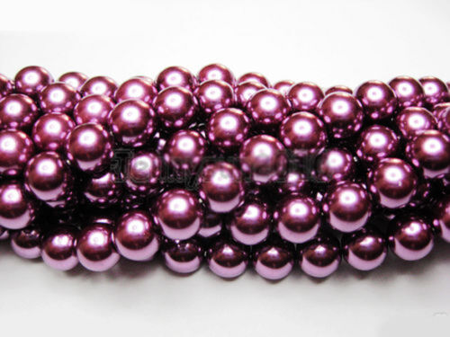 100Pcs Top Quality Czech Glass Pearl Round Beads 4mm 6mm 8mm 10mm