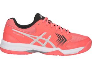 Asics-Gel-Dedicate-5-Womens-Tennis-Shoe-Papaya-White