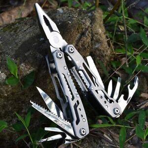 Multifunction Stainless Steel Multi-tool Pocket Knife Pliers Folding Pliers Mini