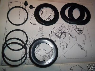 1959-64 x2 DAIMLER Dart SP250     FRONT BRAKE CALIPER REPAIR SEALS KITS