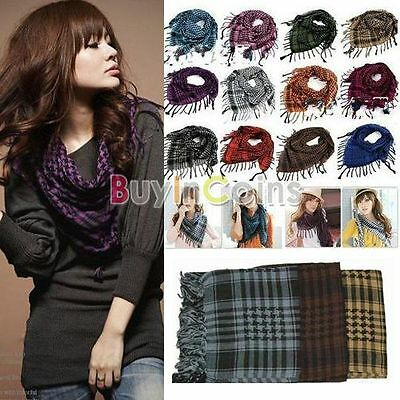 Hot Unisex Women Men Arab Shemagh Keffiyeh Palestine Scarf Shawl Wrap
