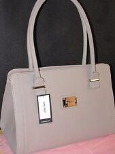 NWT NINE West Metro Girl taupe Dark Beige Khaki ELM satchel bag