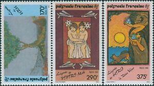 French-Polynesia-1990-Sc-549-551-SG599-601-Polynesian-Legends-set-MNH