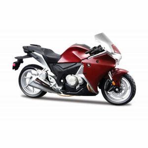 MAISTO-1-18-Honda-VFR1200F-MOTORCYCLE-BIKE-DIECAST-MODEL-TOY-NEW-IN-BOX