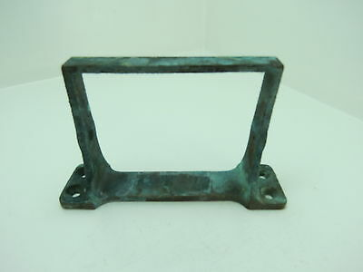 7+5/16 INCH LONG BRONZE BRACKET SHIP BOAT BRASS (#2018)