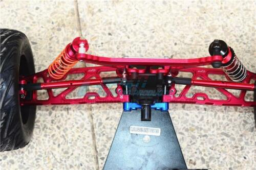 GPM Alum F Upper+Lower Arms//R Lower Arms//F+R Knuckle Arms Red Kraton//Outcast