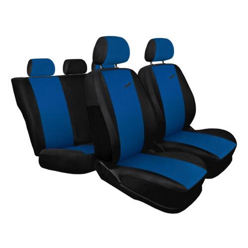 Toyota Yaris bleu Universal Sitzbezüge Housse De Siège Auto Housses de protection XR