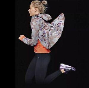 Détails sur Nike Shield Flash Max Running Veste 3 M réfléchissant ~ 686977 011 ~ Taille L afficher le titre d'origine