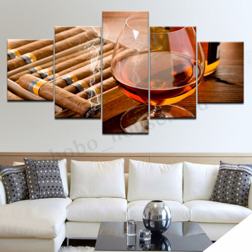 Unframed Modern Art Oil Painting Print Canvas Red Wine Picture Home Wall Decor